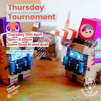 Tournament Thursday with Crafty Robot